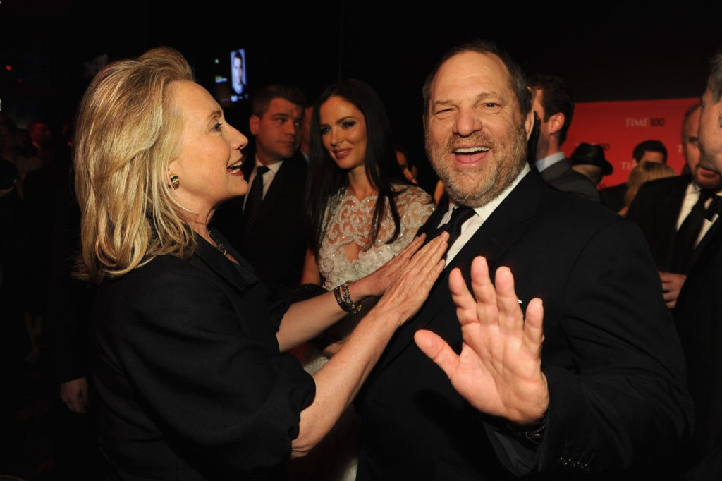 Flynn: Rich! Harvey Weinstein Reminds Hillary Clinton of Donald Trump, Not Bill Clinton