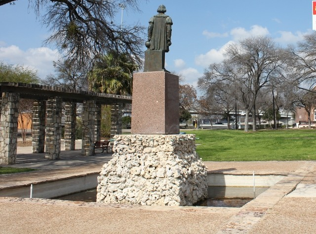 Protesters Demand Removal of 'Oppressor' Christopher Columbus Statue in Texas