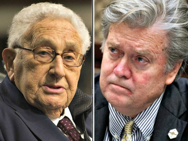 World View: Steve Bannon and Henry Kissinger Form Project to Sound Alarm on China