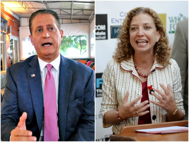 Exclusive – Carlos Reyes: Wasserman Schultz's Possible Link to Russia Dossier Shows Need to Drain the Swamp