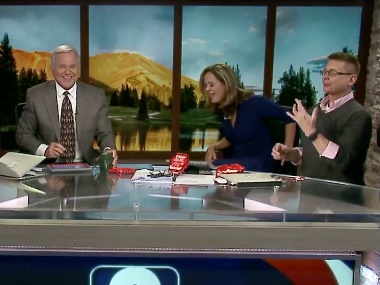 Watch: Denver News Anchor Throws Up After Eating World's Hottest Pepper
