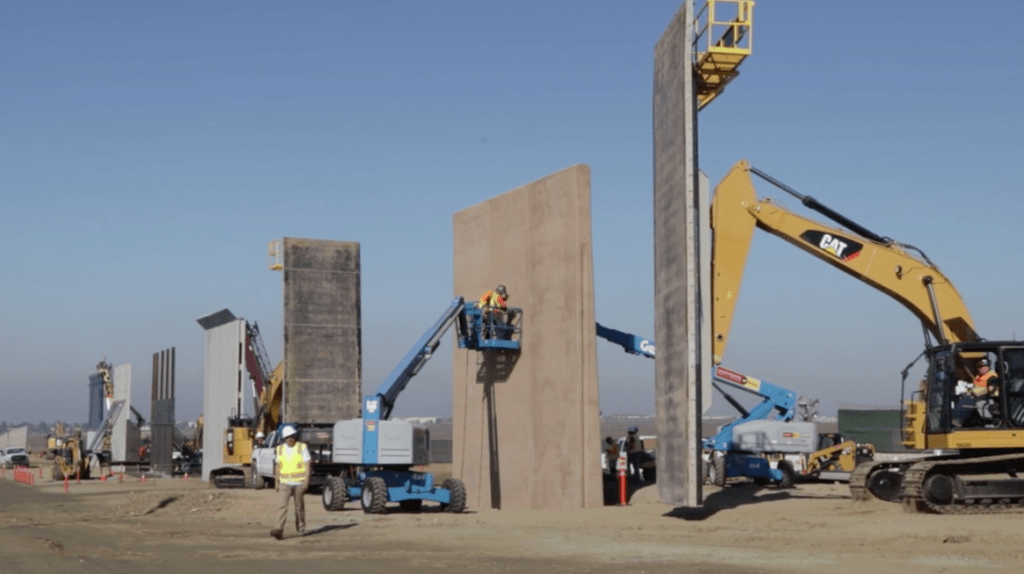 WATCH: Border Wall Prototypes Almost Complete