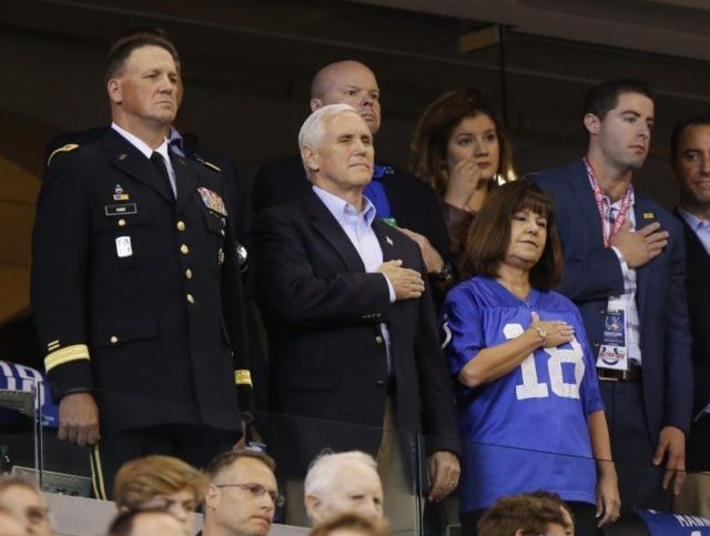 Jock Journalists Bash Mike Pence after Praising Anthem Kneelers