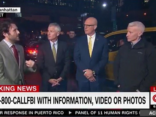 Watch: Man Shouts 'CNN Is Fake News' During Anderson Cooper Live Shot