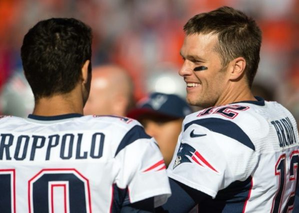 Patriots Show They Believe Tom Brady About Playing Until 45 by Trading Jimmy Garoppolo