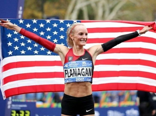 Shalene Flanagan, First American Woman to Win NYC Marathon Since '77, Symbol of City's Comeback