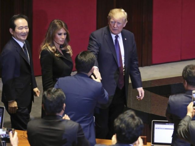 World View: Donald Trump in Seoul Issues Stern Warning to North Korea – and to China