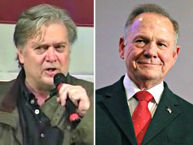 Very Fake News: Associated Press Retracts False Article Claiming Steve Bannon Would Not Campaign for Roy Moore