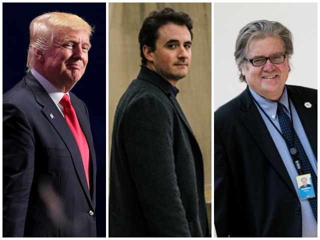 'Winning': SiriusXM 2016 Special Features Alex Marlow's Breitbart News Daily Interviews with Trump and Bannon