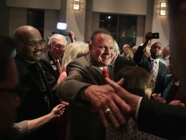 Multiple Standing Ovations for Judge Roy Moore as He Hammers Washington Post Smears at Veterans Day Event
