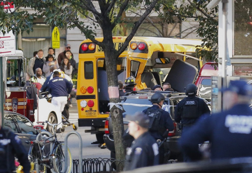Eight Dead After Truck Driver Runs Down Pedestrians in NYC