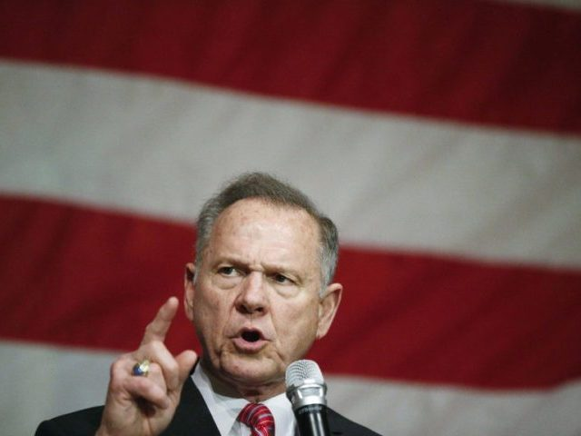 Watch: Roy Moore 'Drain the Swamp' Rally