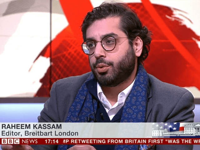 WATCH: Kassam Blasts BBC Establishment Hysteria Over Trump Tweets… 'You'd Think We Were Going to War!'