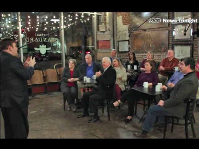 Flabbergasted: Frank Luntz Shocked As Alabamians Back Roy Moore in Vice News Focus Group
