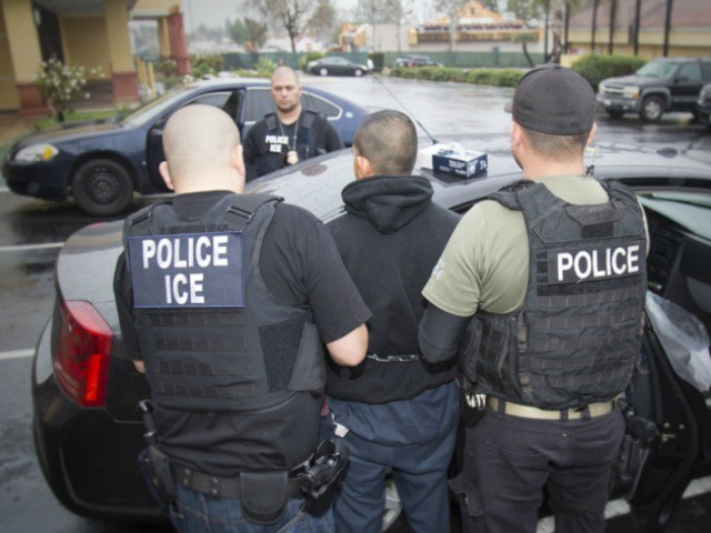 DHS: Deportations of Illegal Aliens Living Across U.S. Increase 37 Percent Under Trump