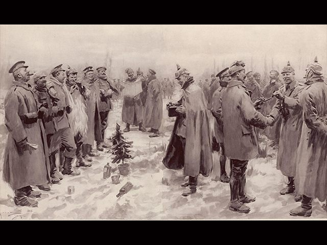 25-Dec-17 World View — Remembering the 1914 World War I Christmas Truce