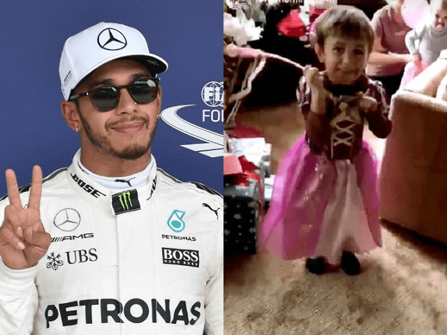 Lewis Hamilton Apologises After Telling Nephew 'Boys Don't Wear Dresses' in Social Media Video