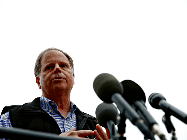 TIME Mag: Alabama Dem Doug Jones Has 'Uphill Battle' Due to Pro-Amnesty, Anti-Border Wall Positions