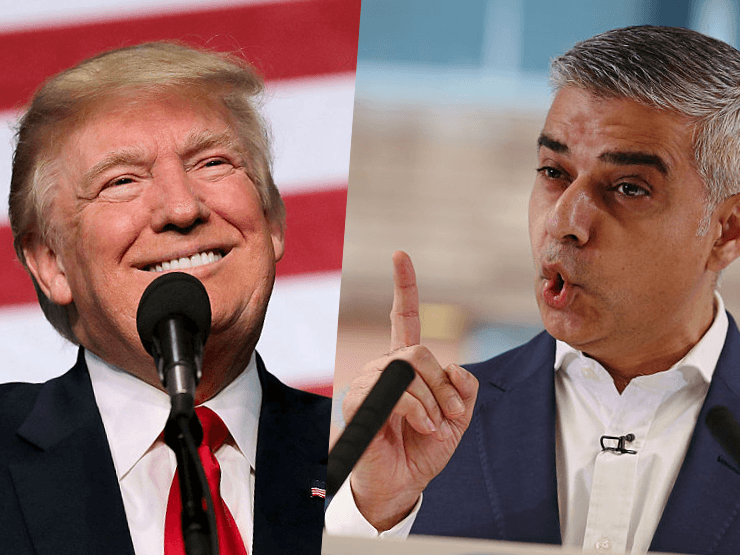 'Not Welcome': London's Muslim Mayor Repeats Calls to Cancel Trump Visit