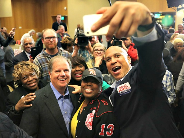 Cory Booker on Fake News Tirade in Alabama with Doug Jones: Pushes Inaccuracies About Roy Moore, Calls for Donald Trump to Resign Presidency