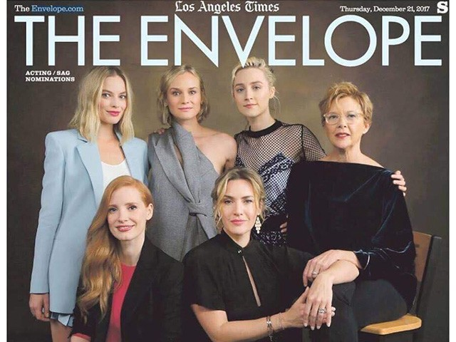 Jessica Chastain Slams Own LA Times Magazine Cover for Featuring All White Actresses