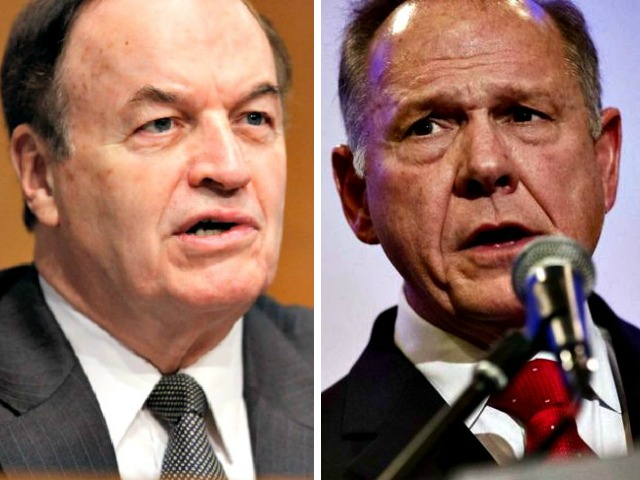 Roy Moore on Senator Shelby: He 'Doesn't Want a Voice in the Senate That Will Stand Up for Trump'