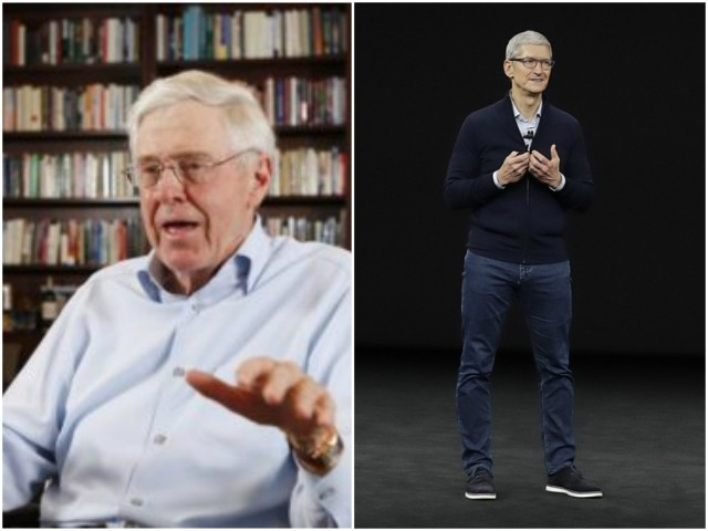 Schlaflys Slam Plutocrats Charles Koch and Tim Cook's Demand for Amnesty