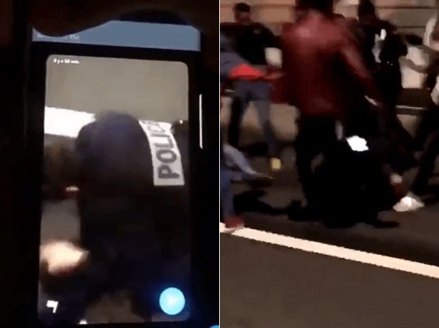 'Cowardly and Criminal Lynching of Police': France NYE Mob Attack on Female Officer Caught on Video