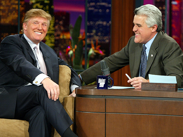 Jay Leno: Late-Night TV Turned Into 'Depressing,' 'In Your Face' Trump-Bashing