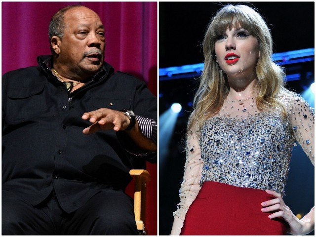 Quincy Jones Disses Taylor Swift: We Need More 'F*cking Songs, Not Hooks'