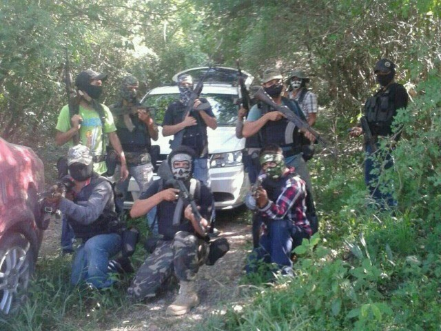 EXCLUSIVE — Accused Mexican Cartel Assassin Caught Sneaking Across Texas Border