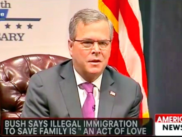 Flashback: Trump Campaign Ad Mocked Jeb Bush's 'Act of Love' Comment on Illegal Immigration