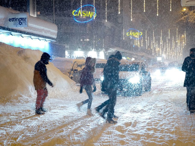 Pictures: Globalist Davos Summit Buried in Snow as Elites Gather to Discuss Global Warming