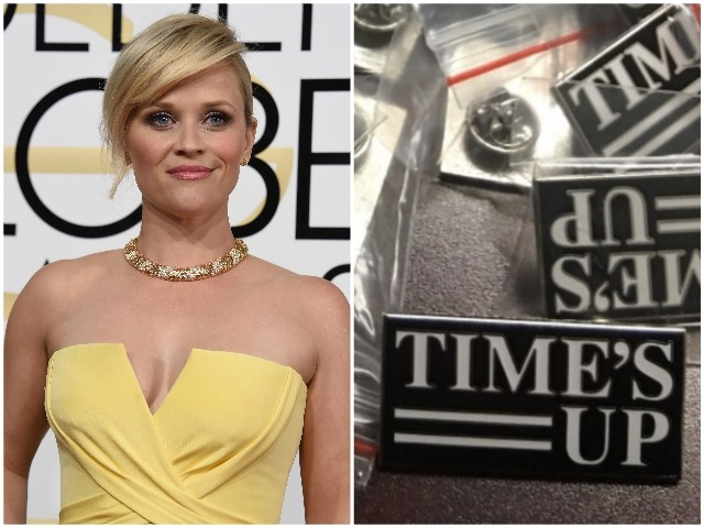 Actresses to Wear 'Time's Up' Pins at Golden Globes to Protest Sex Abuse