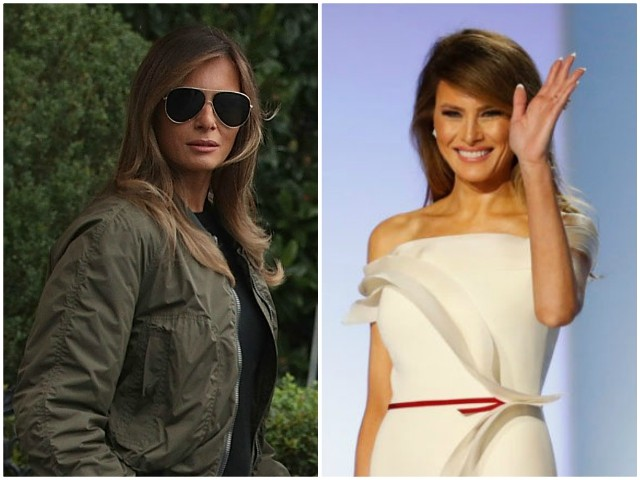 Fashion Notes: First Lady Melania Trump's 10 Most Fabulous Looks of 2017