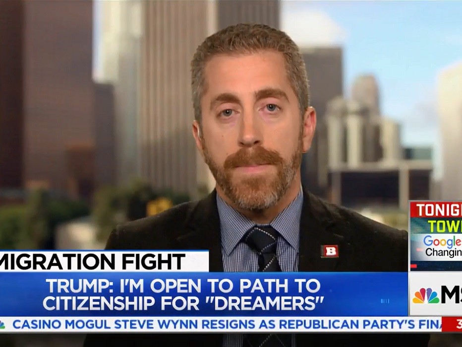 Pollak to MSNBC: 'DREAMers' Should Be Getting Donald Trump Tattoos