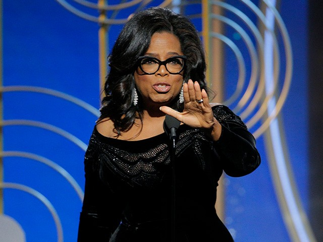 Golden Globes: Oprah Winfrey Calls for Time 'When Nobody Ever Has to Say Me Too Again'