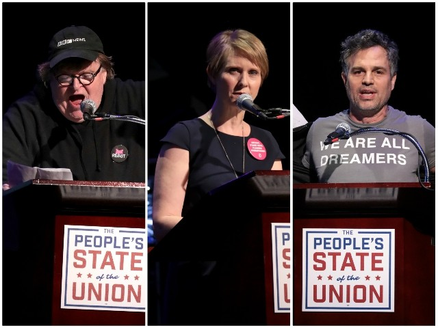 Celebrities Host Anti-Trump 'People's State of the Union': 'This Is the Heart of Patriotism'