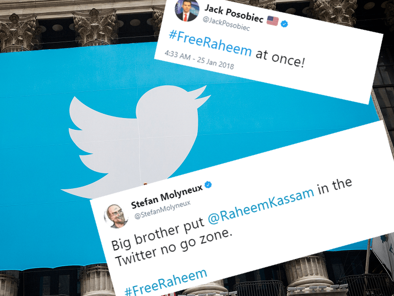 #FreeRaheem: Conservatives Demand Twitter Reinstate Breitbart Editor's Account