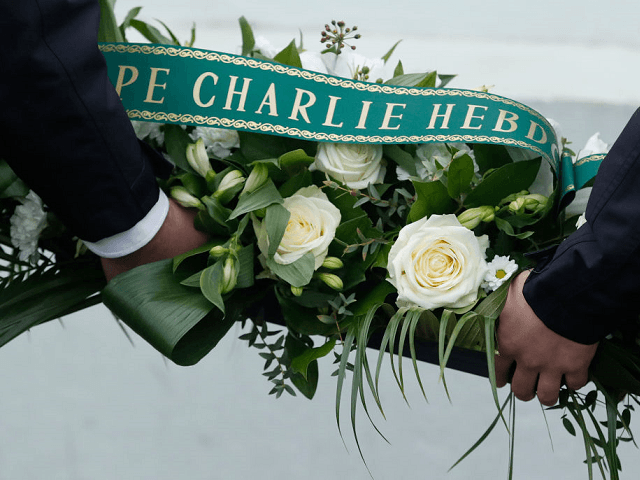 Pictures: Ceremonies of Remembrance at Charlie Hebdo Offices on Third Anniversary of Attacks