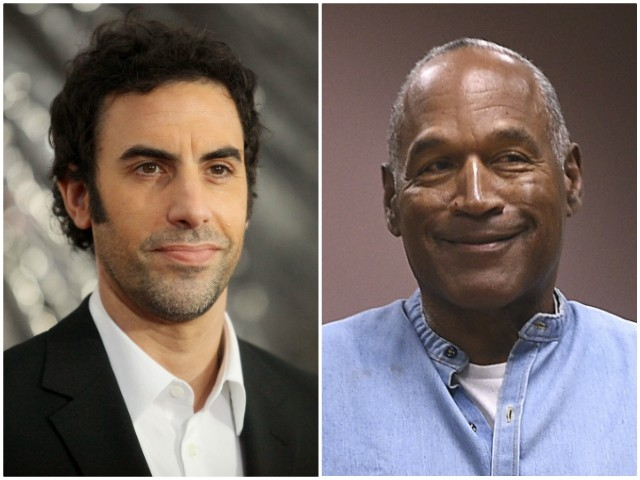 Report: Victims' Families Outraged after Sacha Baron Cohen Pays O.J. Simpson $20K to Appear in Film