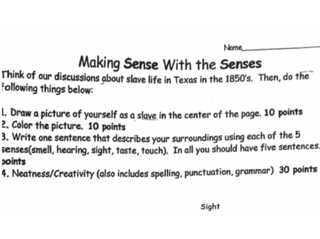 WATCH: Texas Parent Questions School's 'Draw Yourself as a Slave' Assignment