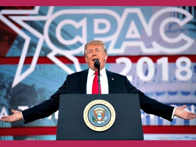 'Vintage Trump': The Donald Rallies Conservative Movement Troops at CPAC 2018 as Midterms Loom
