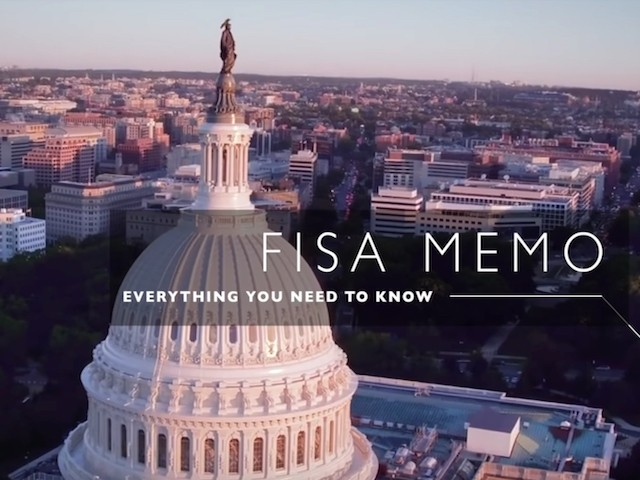 Watch: House Majority Leader McCarthy Offers Explainer on FISA Memo — 'Everything You Need to Know'