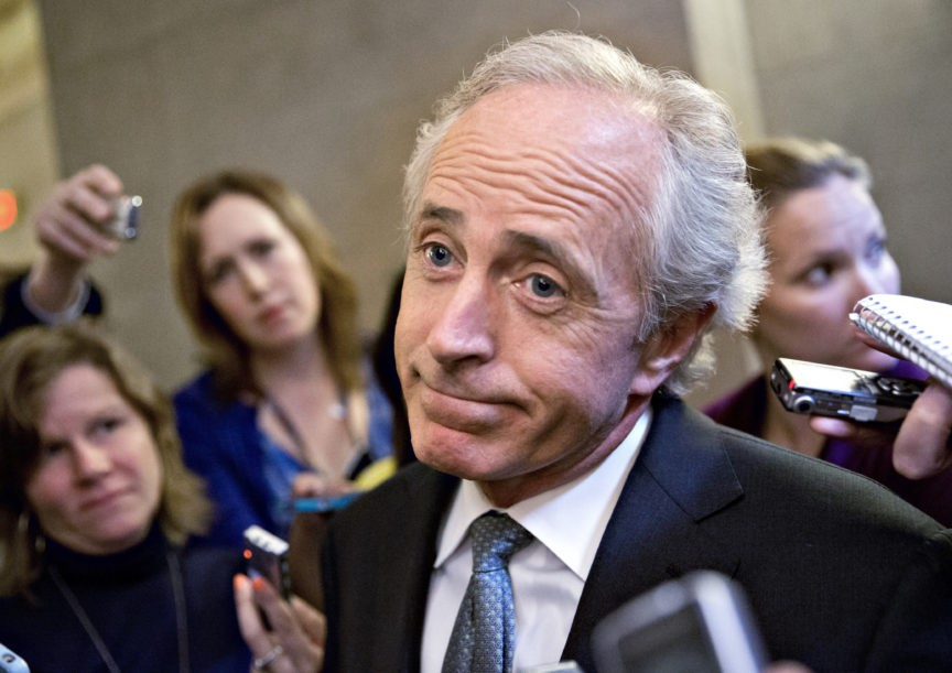 Sen. Bob Corker's Trial Balloon of 'Second Thoughts' About Retirement Lands with a Thud