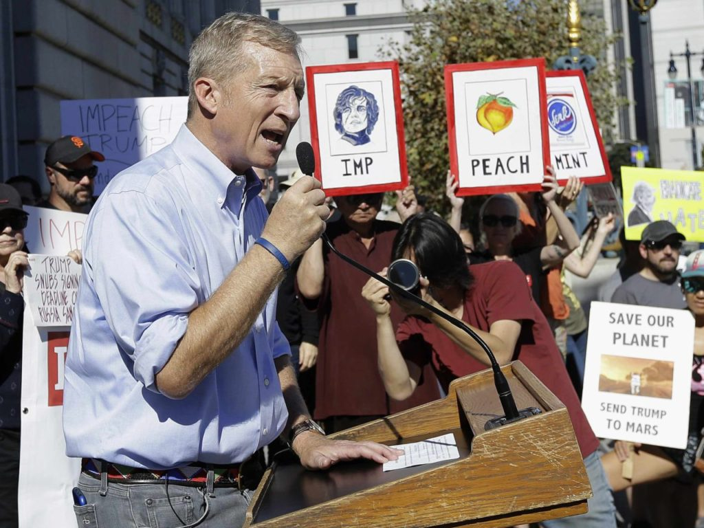 Tom Steyer Airs 'Impeach Trump' Ad in Spanish