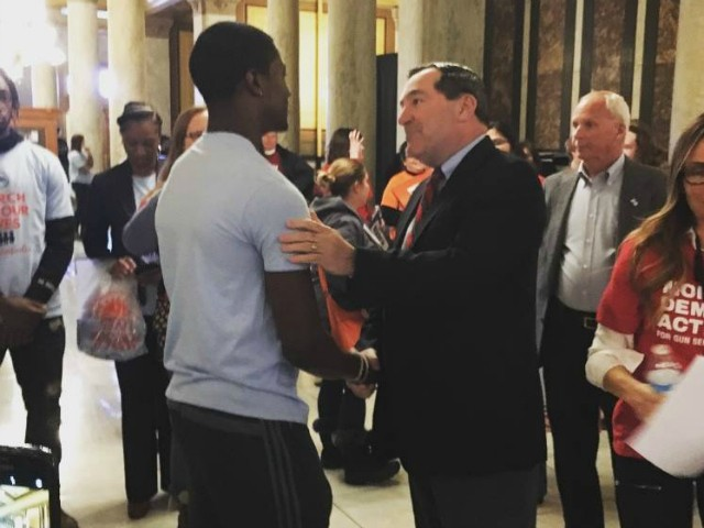 Indiana Sen. Joe Donnelly Attends Gun Control Event; Republicans Call Foul