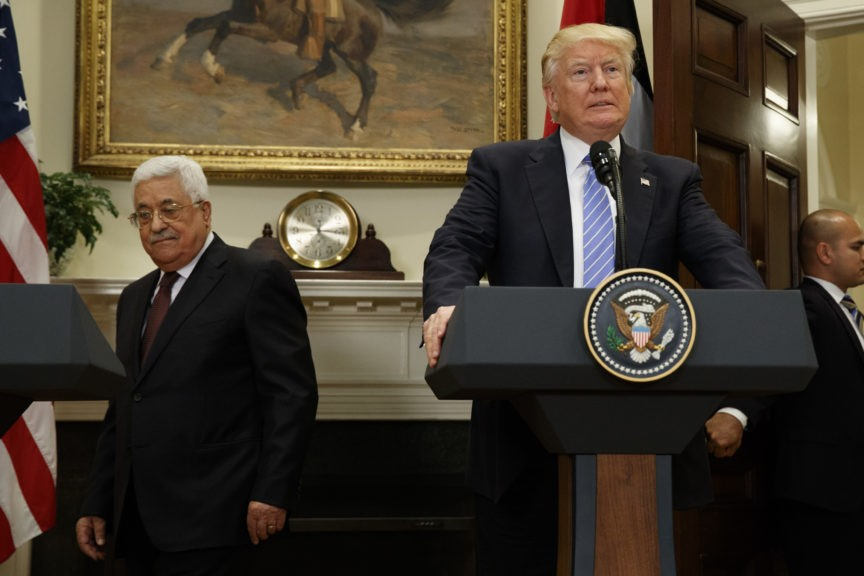 Fatah Member: Embassy Move Proves Trump a 'Mentally Unstable Racist Zionist'