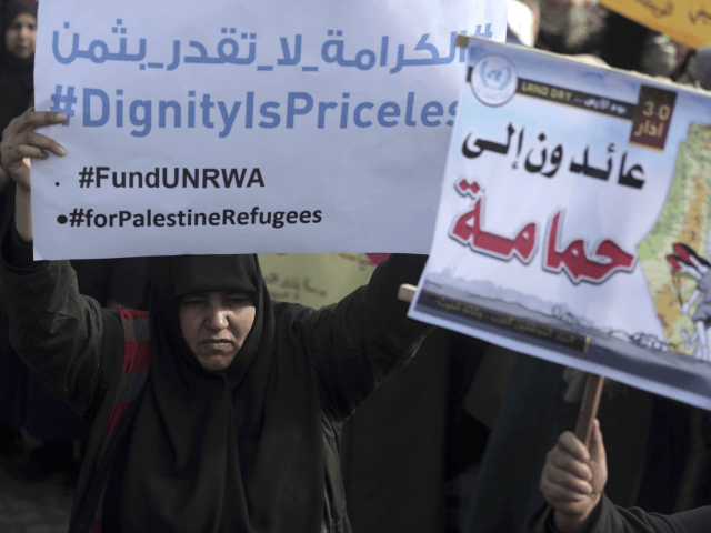 UN Palestinian 'Refugee' Agency Begging World Powers for Cash After Trump Funding Cuts