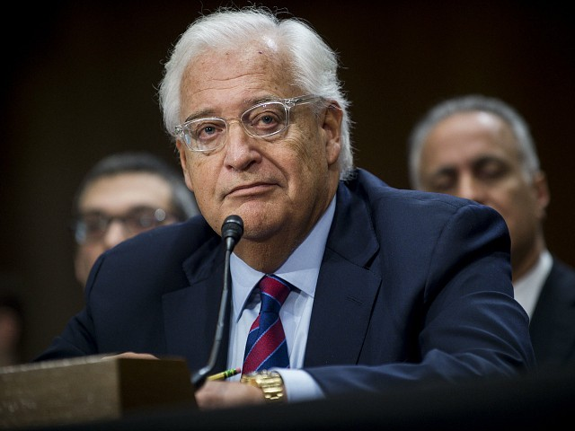 U.S. Envoy Friedman: If Abbas Refuses to Negotiate, His Replacement Will